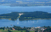 Die Herreninsel im Chiemsee